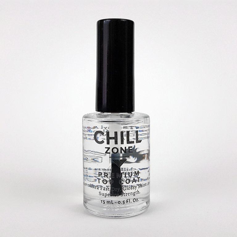 Chill Zone Nails Premium Top Coat (US Patent)
