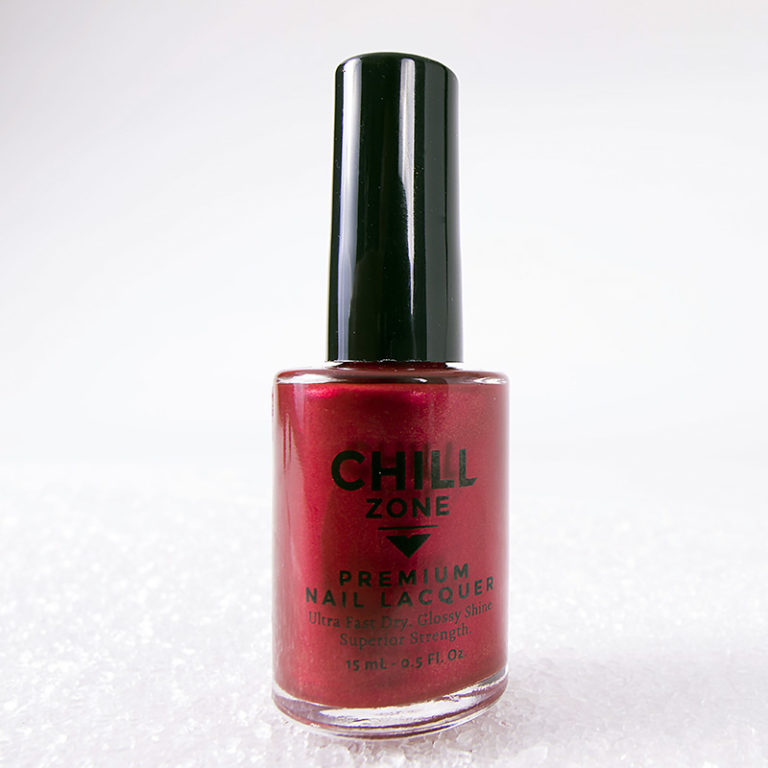 Be Thankful For…Me! Metallic Red Nail Laquer