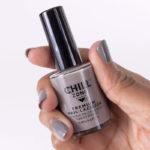 Crescent Moonlight - grey nail polish