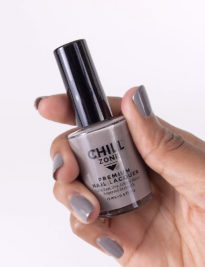 Crescent Moonlight - grey nail polish