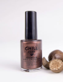 Don't Forget The Nutmeg - Metallic Brown Nail Polish