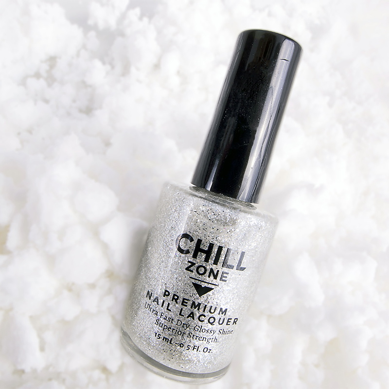 Ice Queen - Silver Glitter Nail Polish