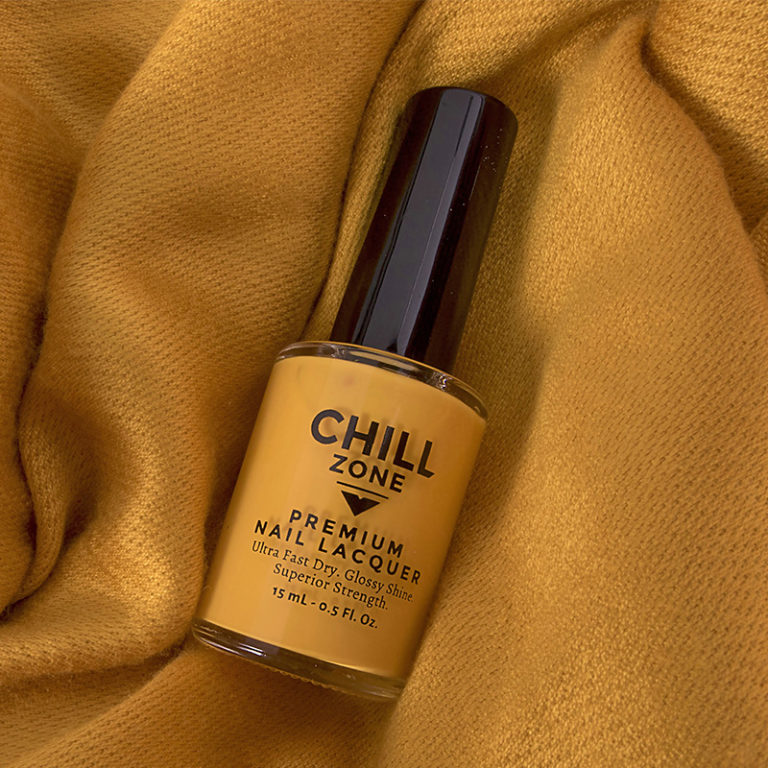 Keep Me Warm, Pashmina - Golden Yellow Nail Polish