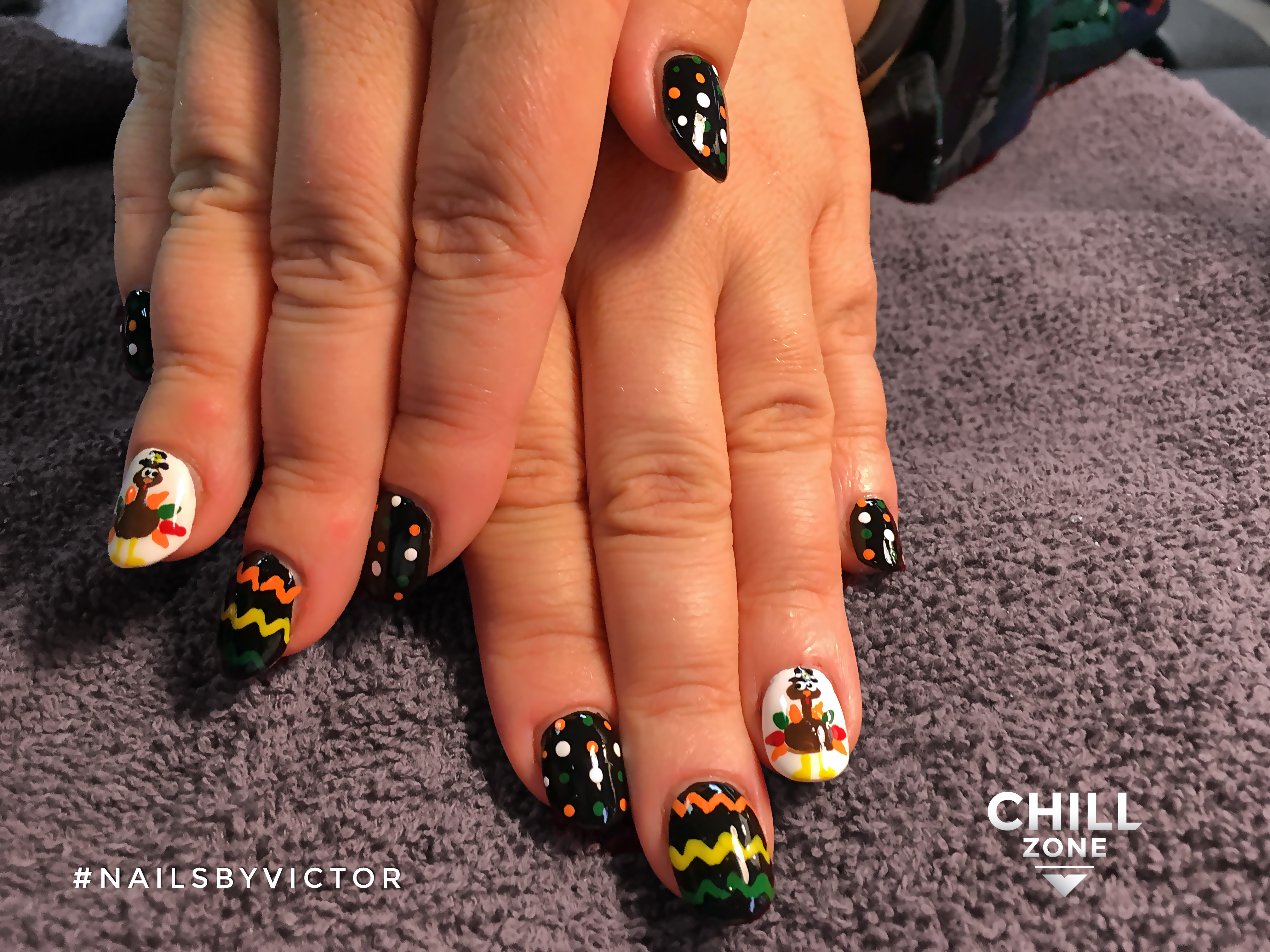 Nails by Victor | Thanksgiving nails
