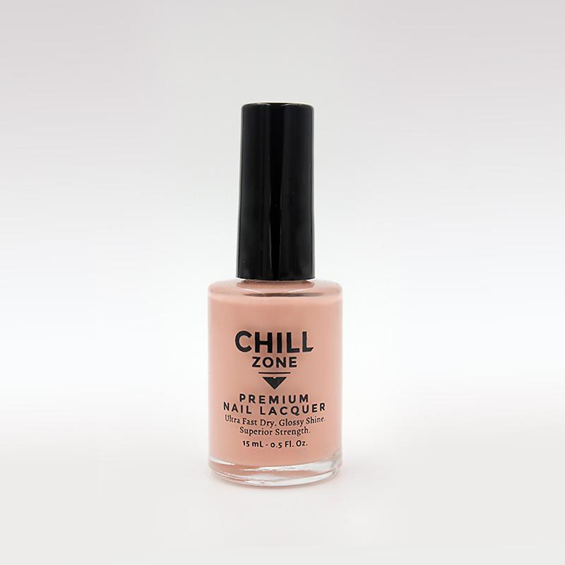 peach nail varnish