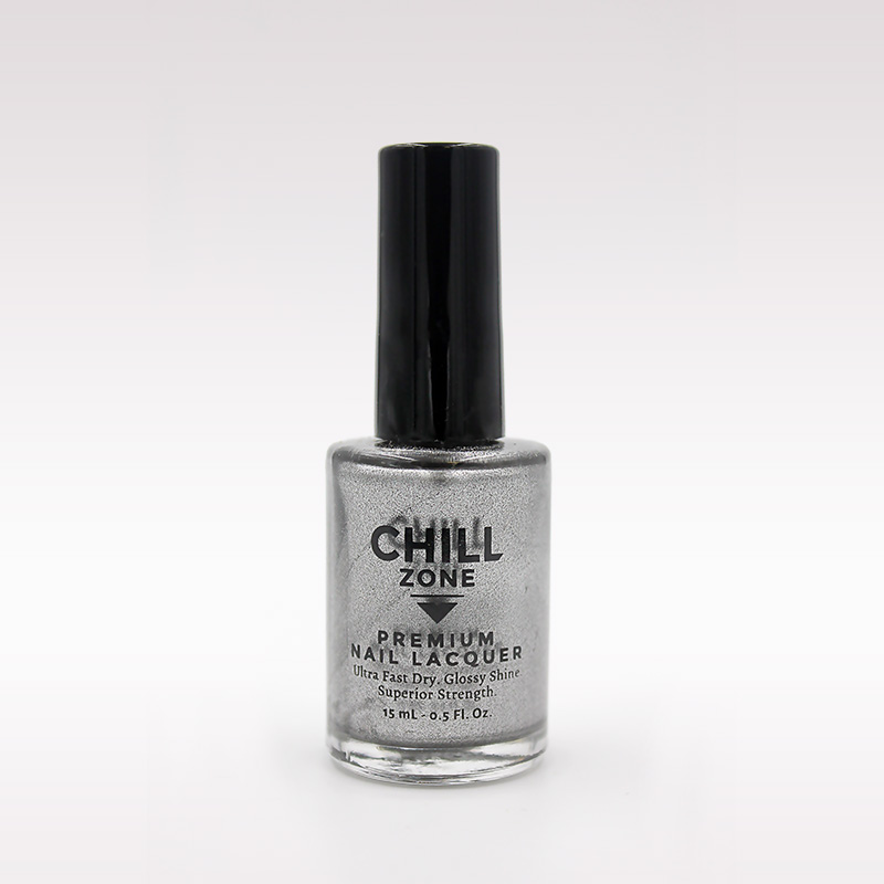 sliver metallic nail polish