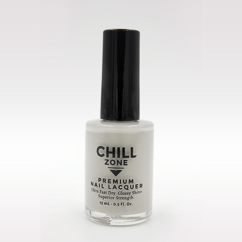 light grey nail polish