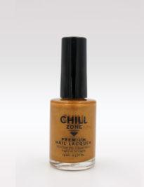 gold shimmer nail polish