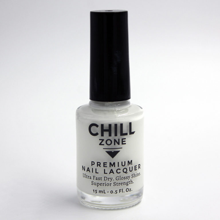 Coconut Cream Tart. White Nail Lacquer by Chill Zone