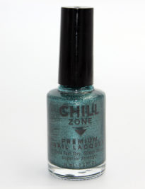 Sea Goddess Within. Glitter Teal Nail Polish by Chill Zone