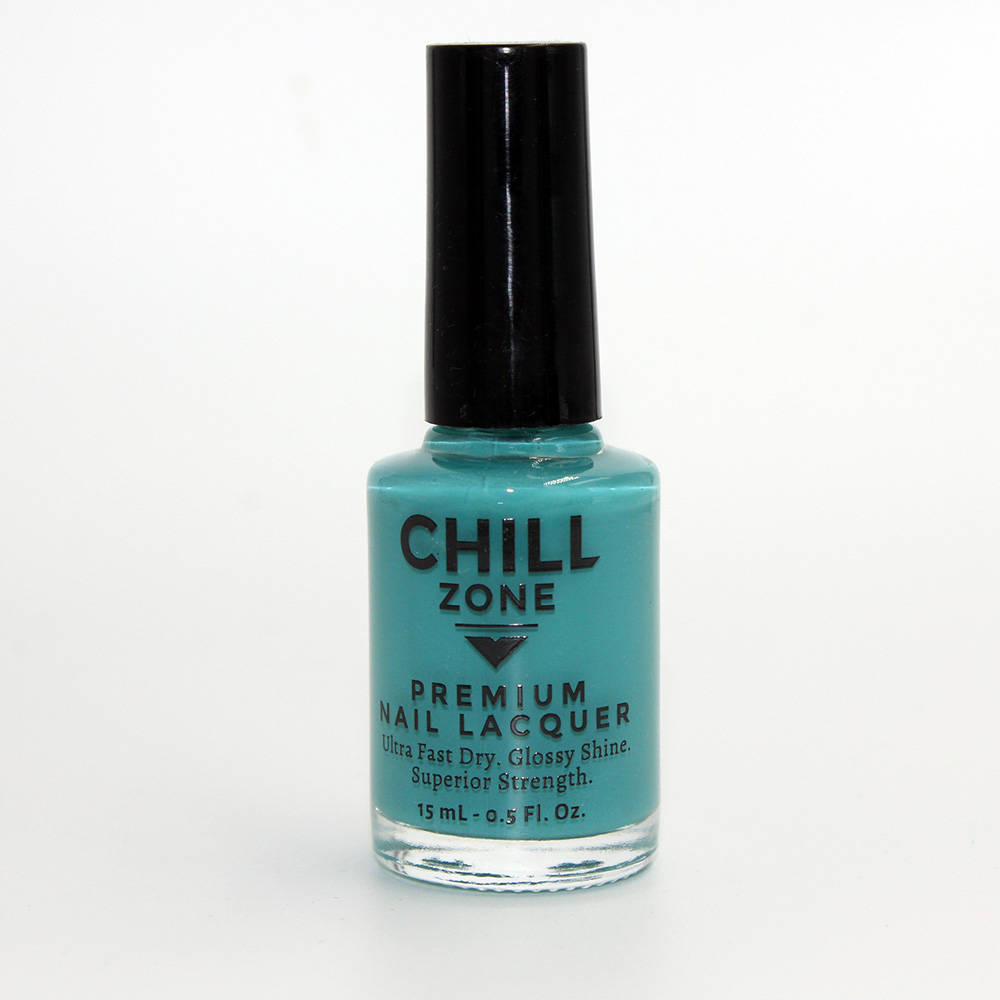 The Beaches of Turks & Caicos. Turquoise Nail Polish by Chill Zone