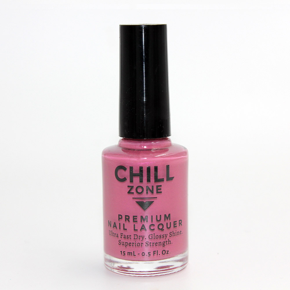 Sun-Kissed Kisses. Bright Pink Nail Polish by Chill Zone