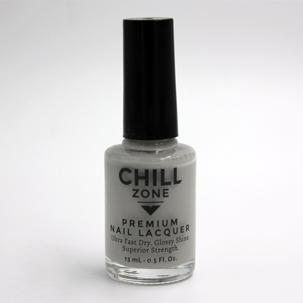 Breeze Throughout My Body. Grey Nail Lacquer by Chill Zone
