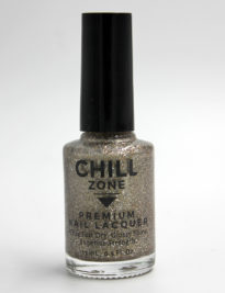 From a Nebula Afar. Glitter Antique Gold Nail Polish by Chill Zone