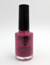 Tall Glass of Red. Burgundy Nail Polish by Chill Zone Nails