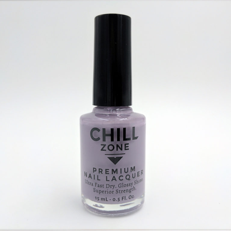 Aster Potion. Pale Purple Nail Polish by Chill Zone