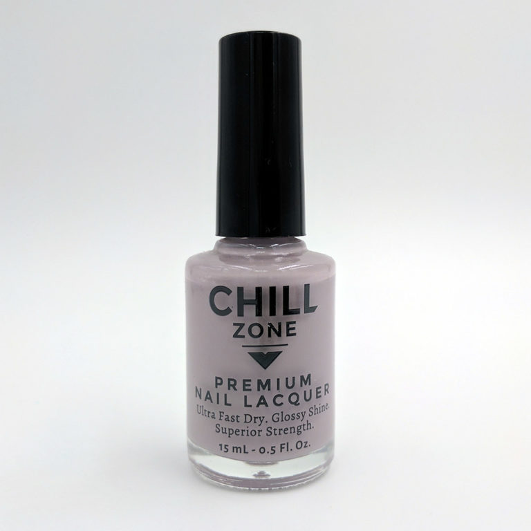 The Dawn is My Delight. Light Grey Nail Lacquer by Chill Zone