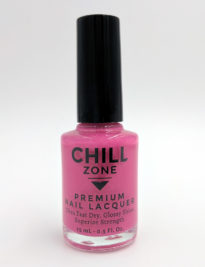 Sequin Bikini. Shimmer Pink Nail Lacquer by Chill Zone Nails