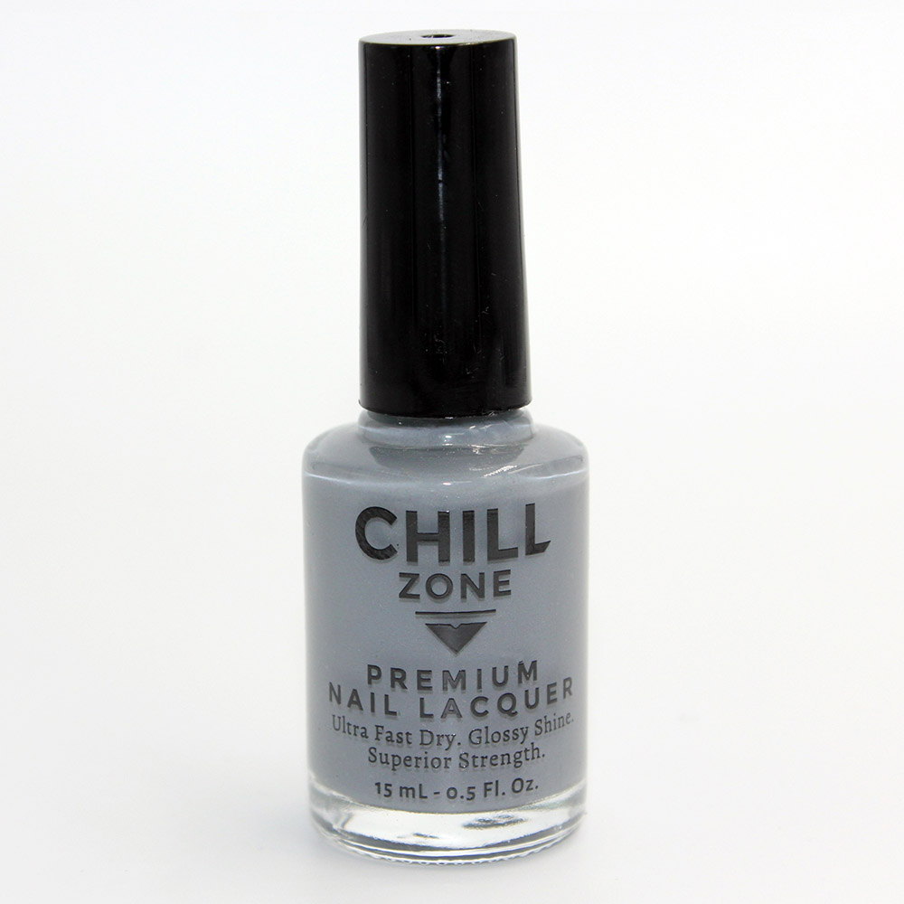 A Night With The Girls. Blue/Grey Nail Lacquer by Chill Zone Nails