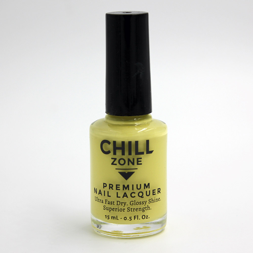 I'm In Need of a Mojito. Yellow Nail polish by Chill Zone nails