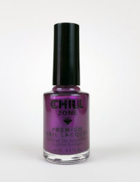 Shimmer Metallic Royal Purple Nail Polish by Chill Zone Nails