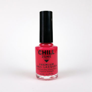 Pink-Red Nail Polish by Chill Zone Nails