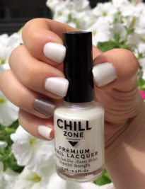 Pearlescent White Nail Polish