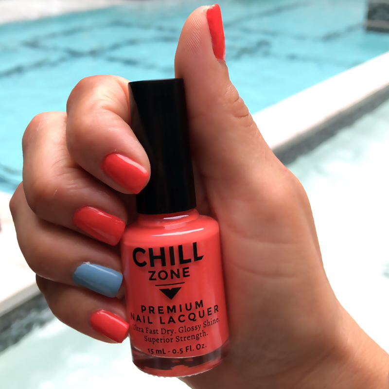 A Sprinkle Of Zest Chill Zone Nails