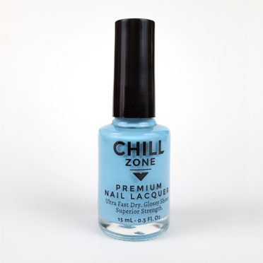 Sky Blue Nail Lacquer by Chill Zone Nails